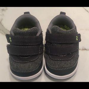 NIB Boys Surprize by Stride Rite Owen High Top Sneaker Shoes 0-6  6-12  mo